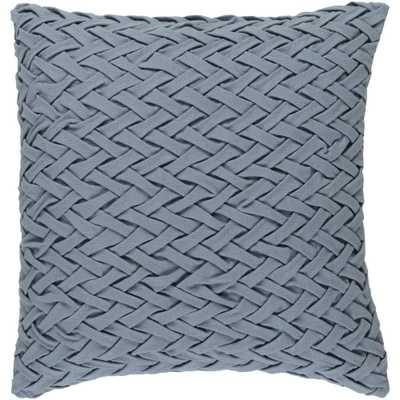 Bendmore Poly Euro Pillow, Grey - Home Depot