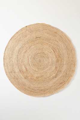 Handwoven Lorne Round Rug - Anthropologie