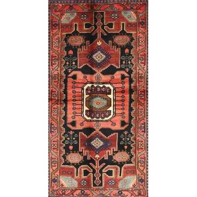 Genibrel Traditional Red/Green Area Rug - Wayfair