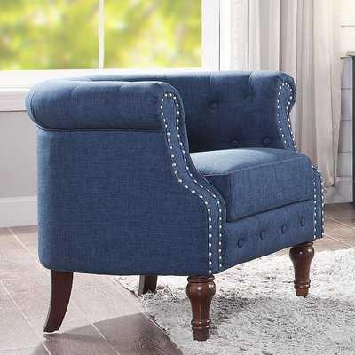 """Argenziano 19"""" Chesterfield Chair - Birch Lane"""