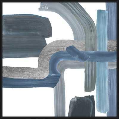 'Into the Blue' Framed Graphic Art Print - Wayfair