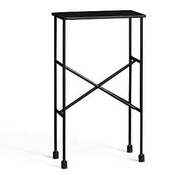 Zane Accent Table, Black - Pottery Barn