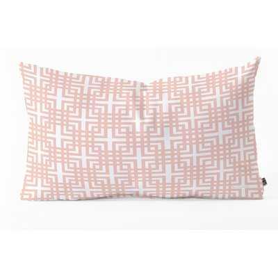 Madart Inc. Tropical Fusion Oblong Indoor/Outdoor Lumbar Pillow - Wayfair