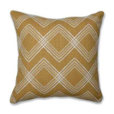 Colton Tuscan Square Throw Pillow Yellow - Pillow Perfect - Target