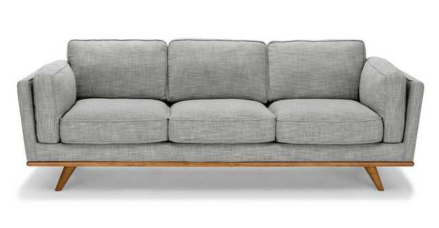 Timber Pebble Gray Sofa - Article
