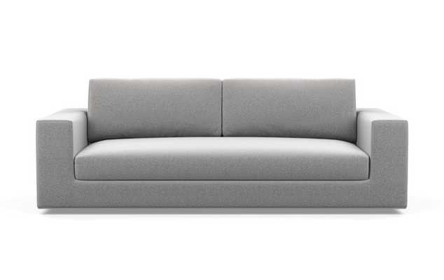Walters Sofa with Ash Fabric, and Bench Cushion - Interior Define
