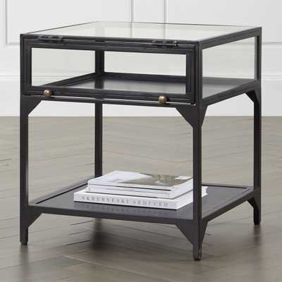 Ventana Display End Table - Crate and Barrel