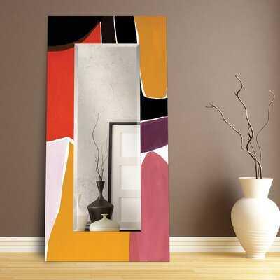 Edgardo Rectangular Beveled Full Length Mirror - Wayfair