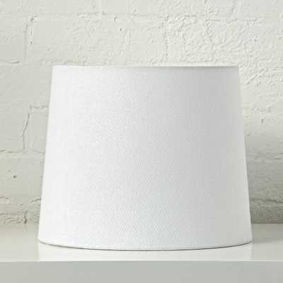 Mix and Match White Table Lamp Shade - Crate and Barrel