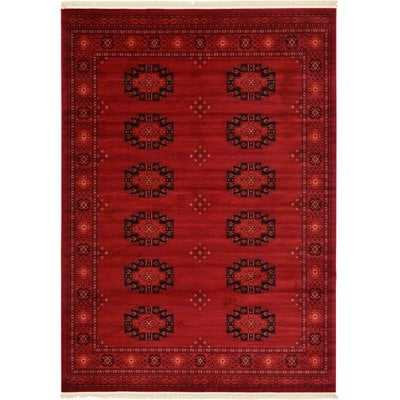 Kowloon Red Area Rug - Wayfair