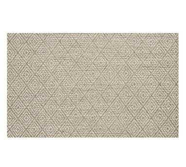 Kara Custom Sisal Rug, 5x10', Cardamom - Pottery Barn