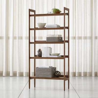 Tate Wide Bookcase - Crate and Barrel