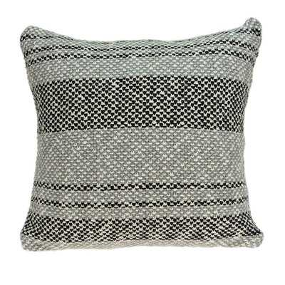 "20"" X 0.5"" X 20"" Charming Transitional Gray Pillow Cover - Wayfair"