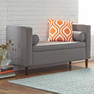 Telesphorus Upholstered Storage Bench - AllModern
