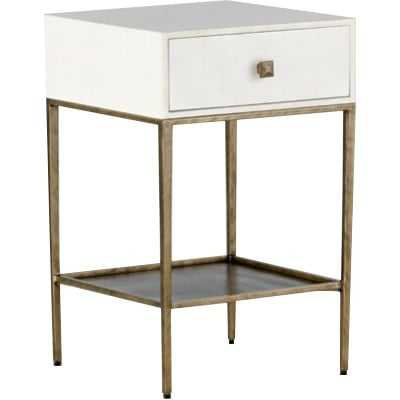 May End Table with Storage - Wayfair