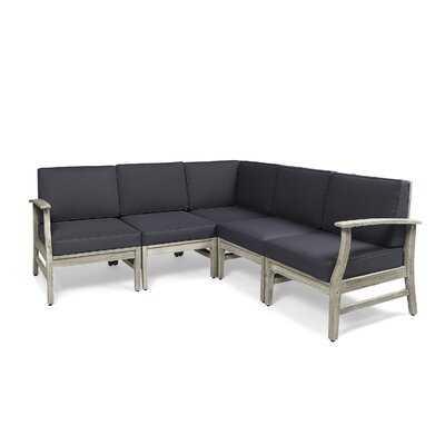 Brickhouse Patio Sectional with Cushions - Wayfair