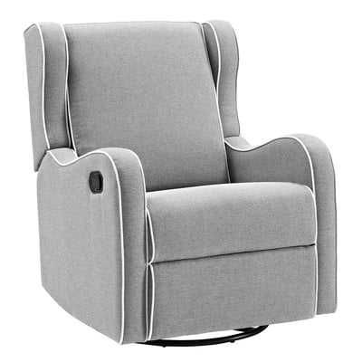 Rowe Upholstered Manual Reclining Glider Recliner - Birch Lane