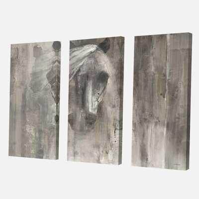 'Farmhouse Horse' Painting Multi-Piece Image on Canvas - Wayfair