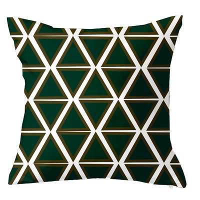 Trillion Triangle Geometric Throw Pillow - Wayfair