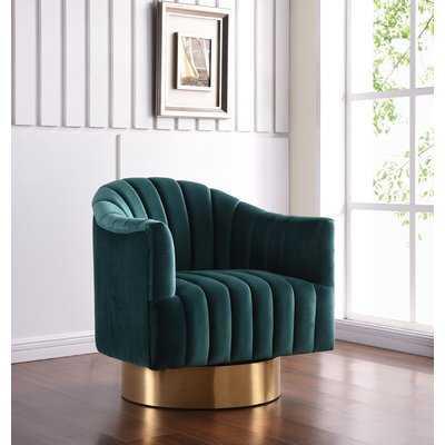 Bekah Swivel Barrel Chair - Wayfair