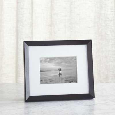 Icon 5x7 Black Picture Frame - Crate and Barrel