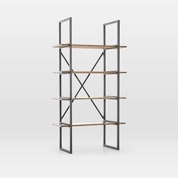 Modern Mixed Material Bookshelf - West Elm