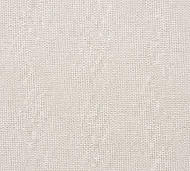 Fabric By the Yard - Performance Brushed Basketweave Oatmeal - Pottery Barn