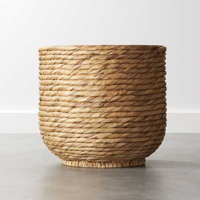 Coil Natural Palm Basket - CB2