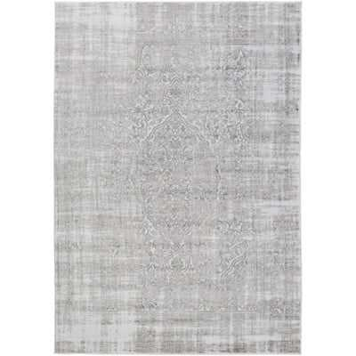 Ismay Ivory/Medium Gray Area Rug - Wayfair