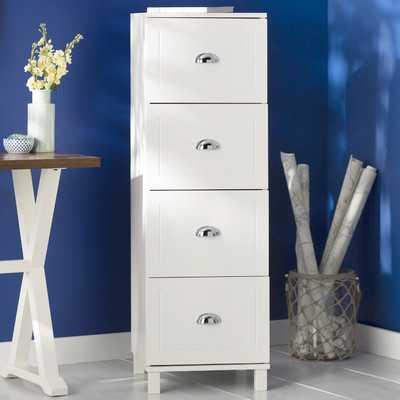 Rothrock 4 Drawer Vertical Filing Cabinet - AllModern
