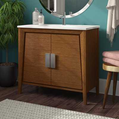 "Emerson 35"" Single Bathroom Vanity Set - AllModern"