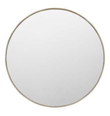 "36"" Round Metal Framed Mirror - Rejuvenation"