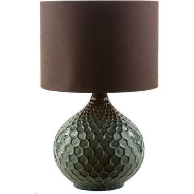 Artistic Weavers Amici 22.5 in. Dark Green Indoor Table Lamp - Home Depot