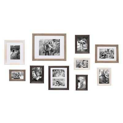 10 Piece Mcclaskey Gallery Picture Frame Set - Birch Lane