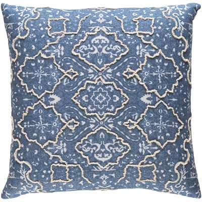 Laquanda Pillow, Blue - Home Depot