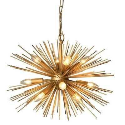 Cropper LED Sputnik Chandelier - Wayfair