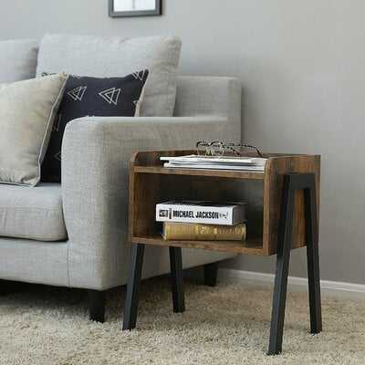 Lambert Wooden Stackable End Table - Wayfair