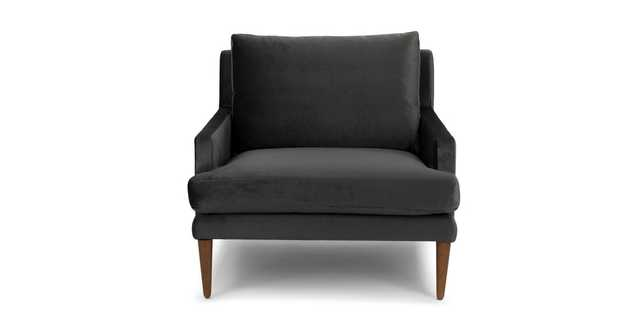 Luxu Mica Gray Chair - Article