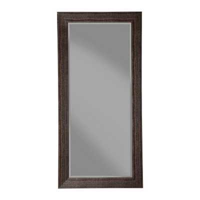 Sandberg Furniture Rustic Espresso Full Length Leaner Mirror - Home Depot