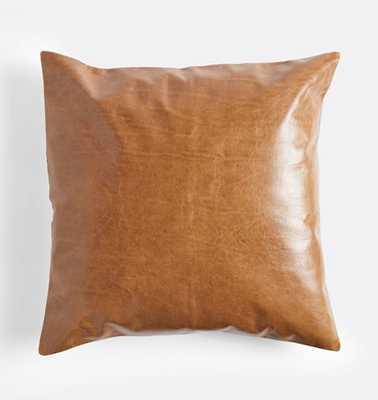 Leather Pillow Cover - Rejuvenation