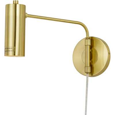 AF Lighting Aurelian 1-Light Gold Wall Sconce - Home Depot