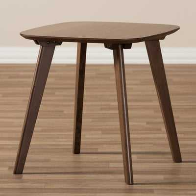 Brokaw Mid-Century Modern Wood End Table - Wayfair