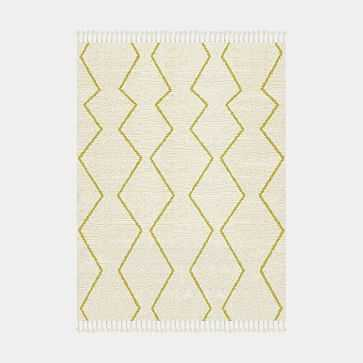 Souk Made to Order Rug, Citrus Yellow, 9'x12' - West Elm