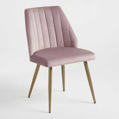 Mauve Pink Leilani Dining Chairs Set Of 2 by World Market - World Market/Cost Plus