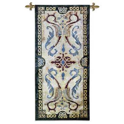 Celtic Design I by Abigail Kamelhair Tapestry - Birch Lane