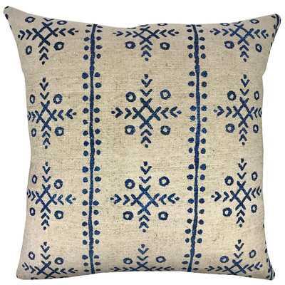 Mud Cloth Batik Throw Pillow - Wayfair