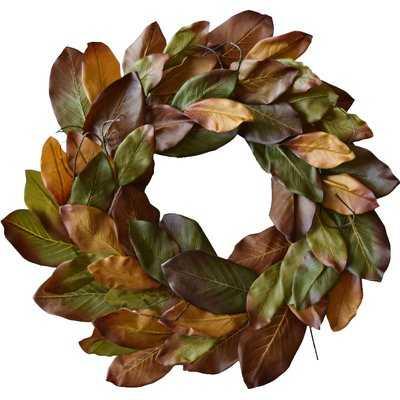 Magnolia 29'' Wreath - Birch Lane