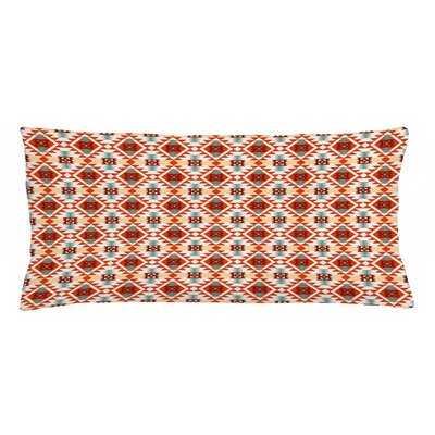 Tribal Lumbar Pillow Cover - Wayfair