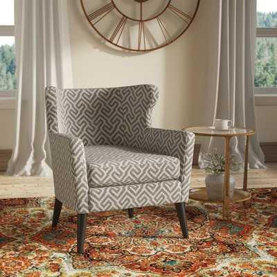 Flavin Concave Wingback Chair - Wayfair