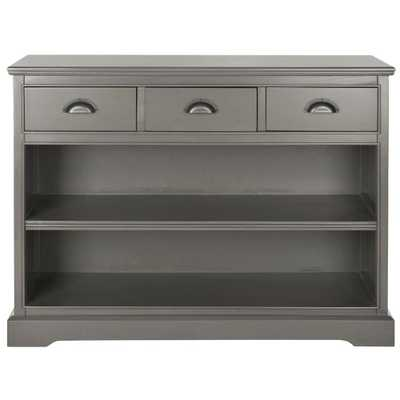 Prudence 2-Shelf Etagere in Grey - Home Depot